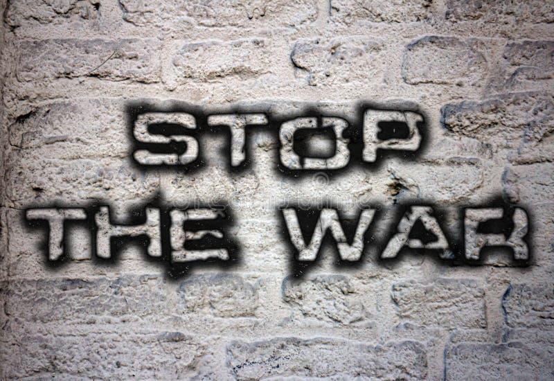 Stoppen Sie den Krieg vektor abbildung