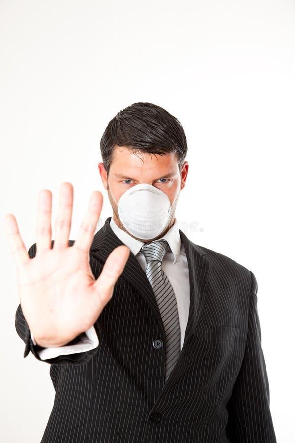 Stoppen Sie Virus lizenzfreies stockbild