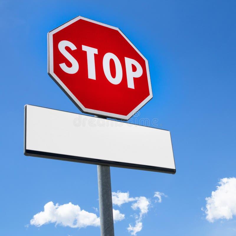 Stoppen Sie Zeichen lizenzfreies stockbild