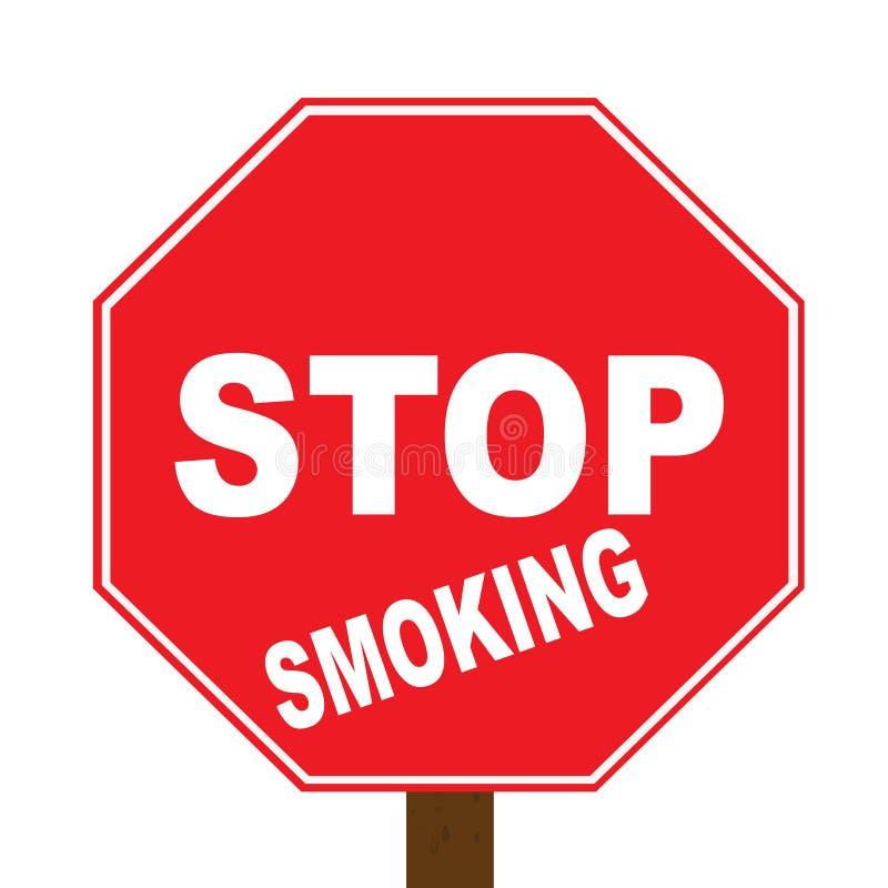 Stoppen Sie zu rauchen vektor abbildung