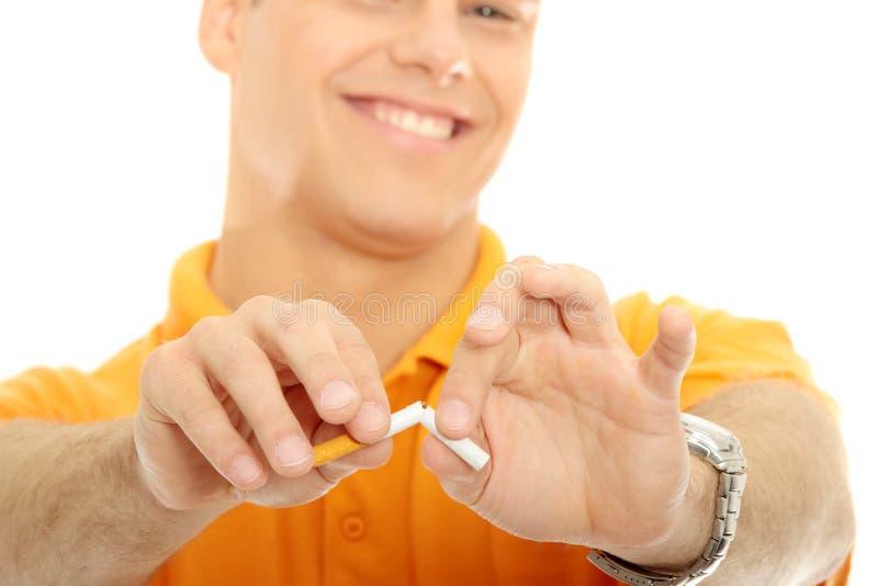 Stoppen Sie zu rauchen lizenzfreie stockfotos