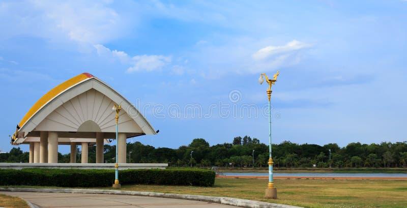 Stopta Lua park stock foto