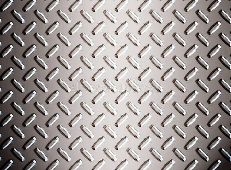 stopu metalu diamond płytki ilustracja wektor