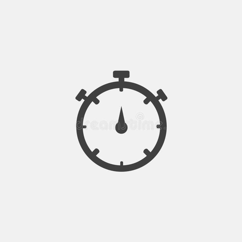 stopwach ikony wektor royalty ilustracja