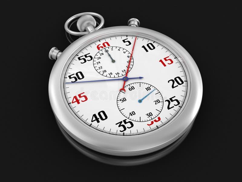 Stopwatch (ścinek ścieżka zawierać) ilustracji