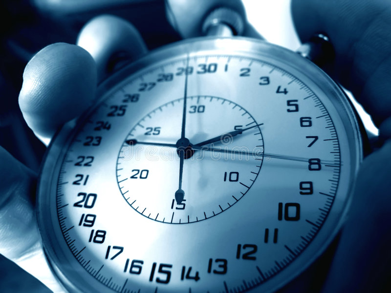 Stopwatch. royalty free stock images