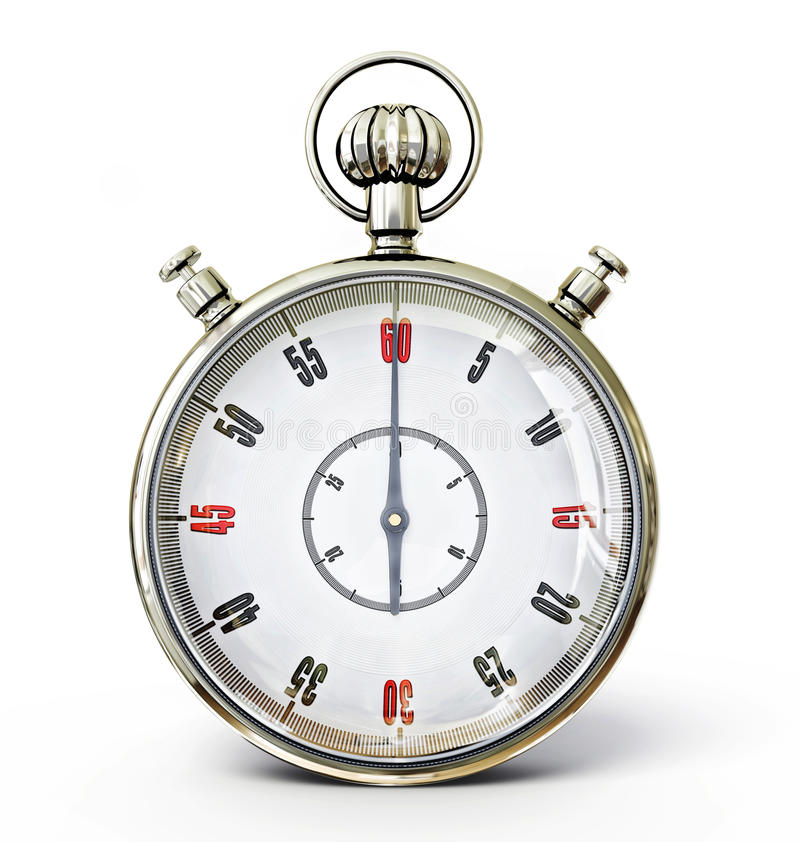 Download Stopwatch stock illustration. Illustration of object - 25929970