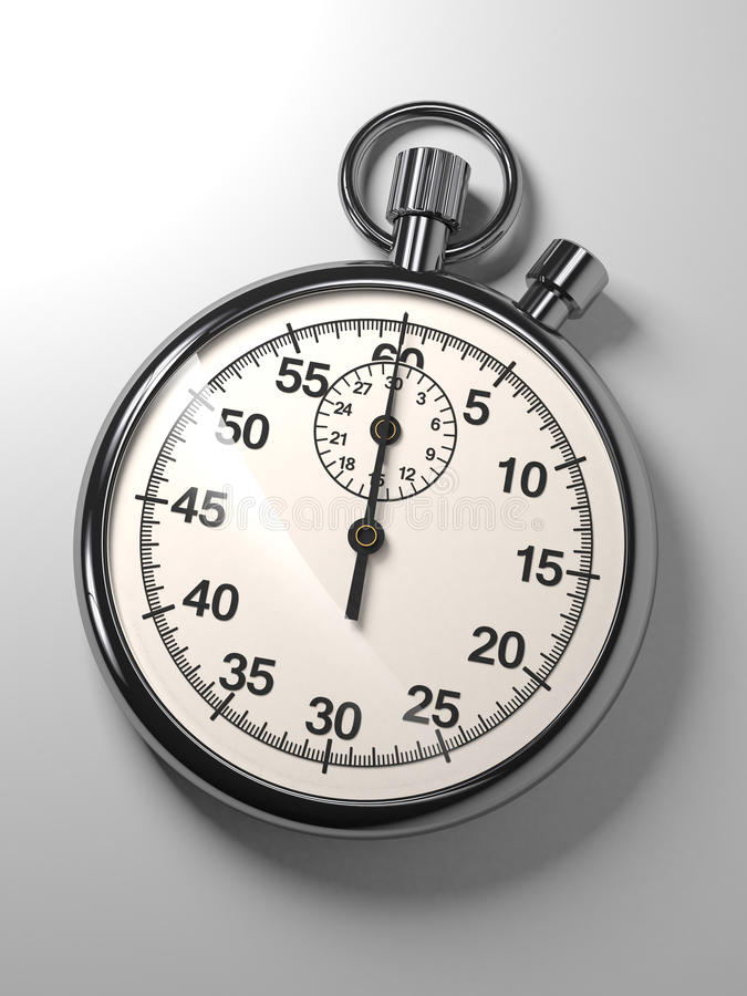 Download Stopwatch stock illustration. Image of record, countdown - 27882604