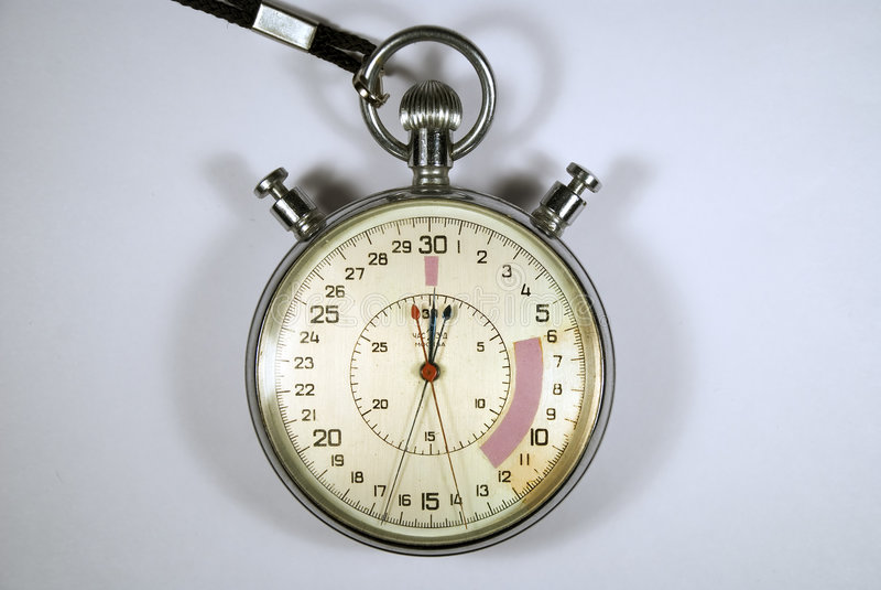stopwatch arkivfoton