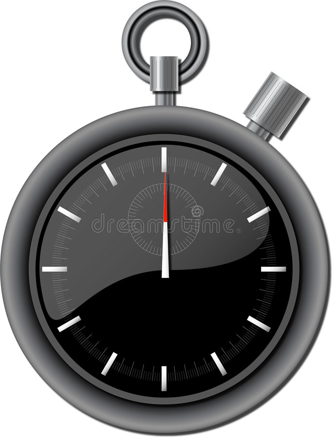 Stopwatch stock illustration