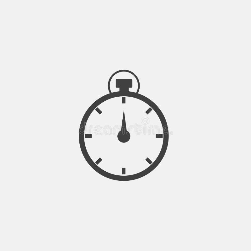 Stopwatch ikony wektor ilustracja wektor