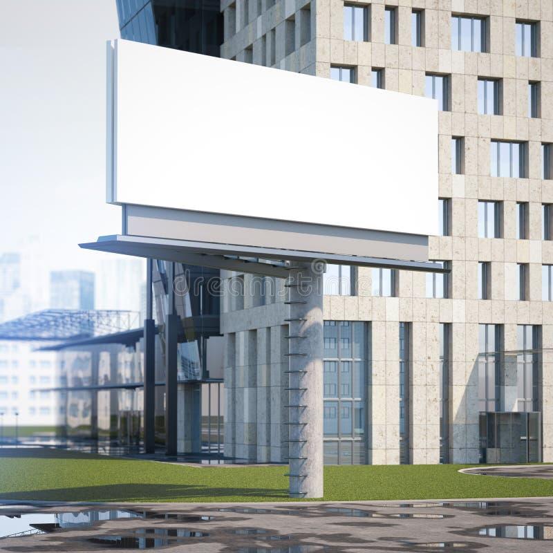 Download Stor Affischtavlastad Framförande 3d Fotografering för Bildbyråer - Bild av stad, tecken: 76704253