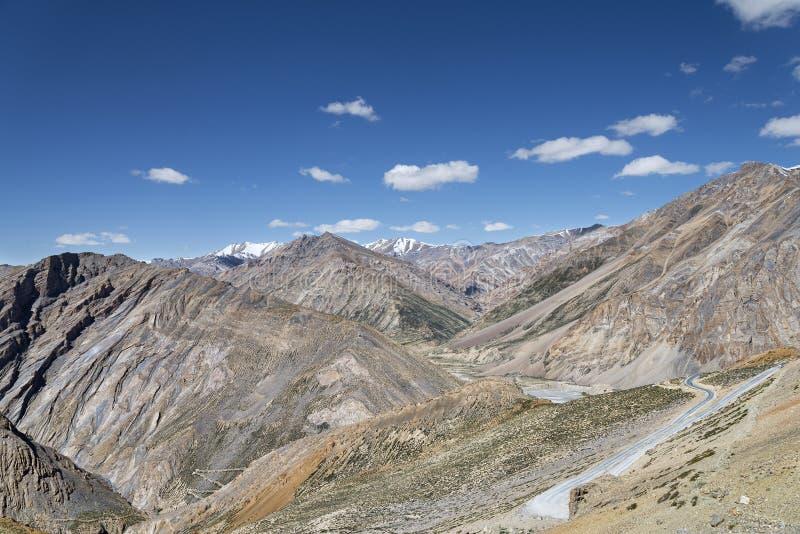 Stor bergsikt arkivbild