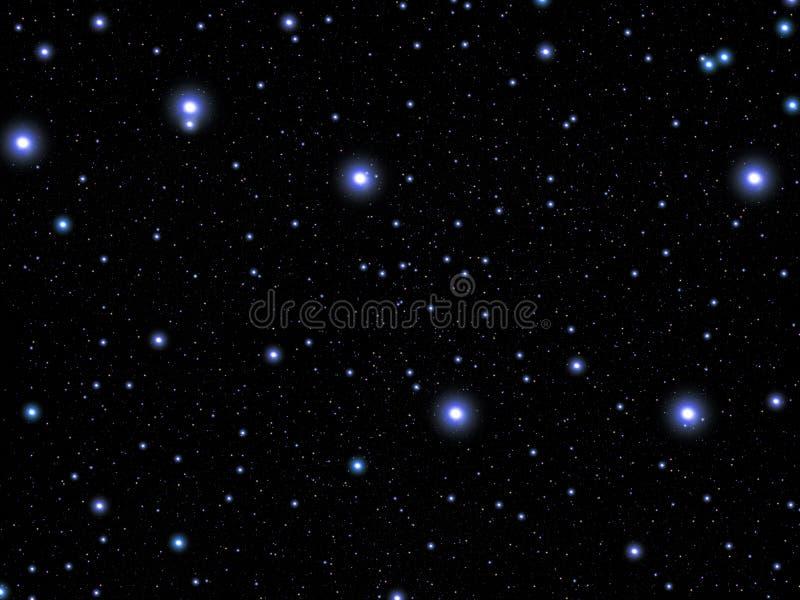 stor björnkonstellation stock illustrationer