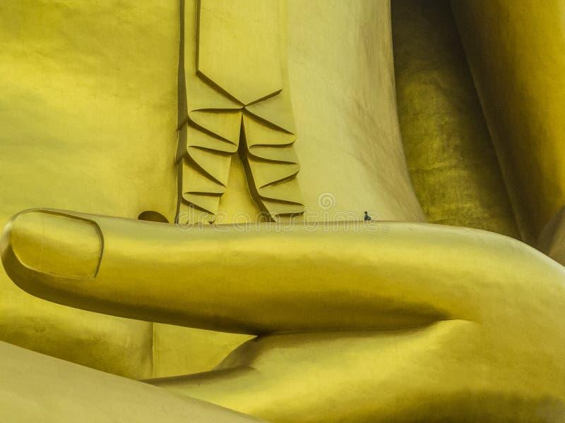 stor buddha hand s arkivbilder