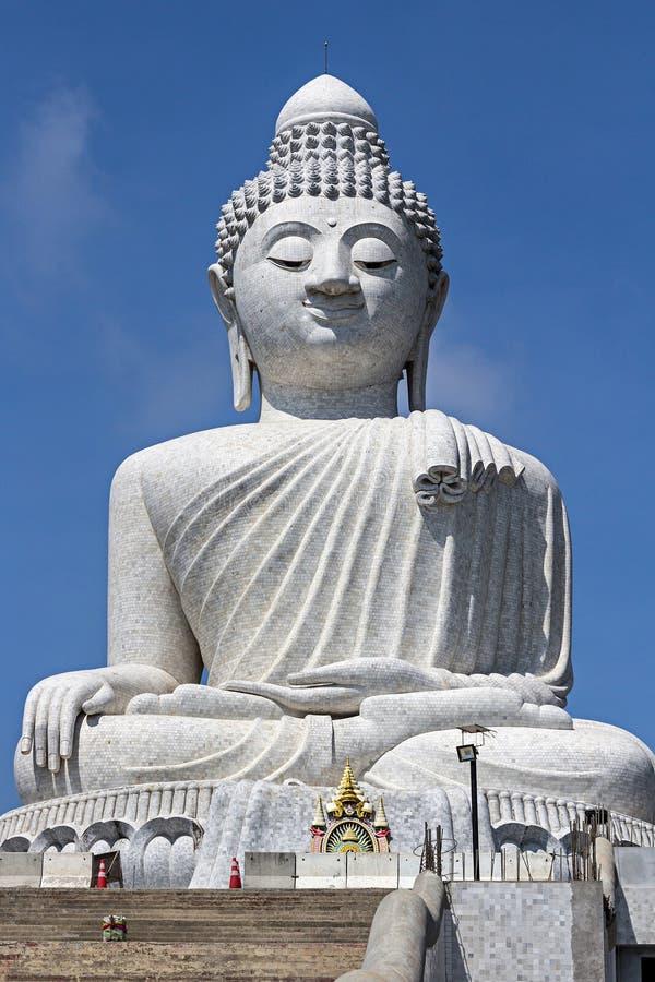 Stor Buddha i den Phuket ön, Thailand royaltyfri fotografi