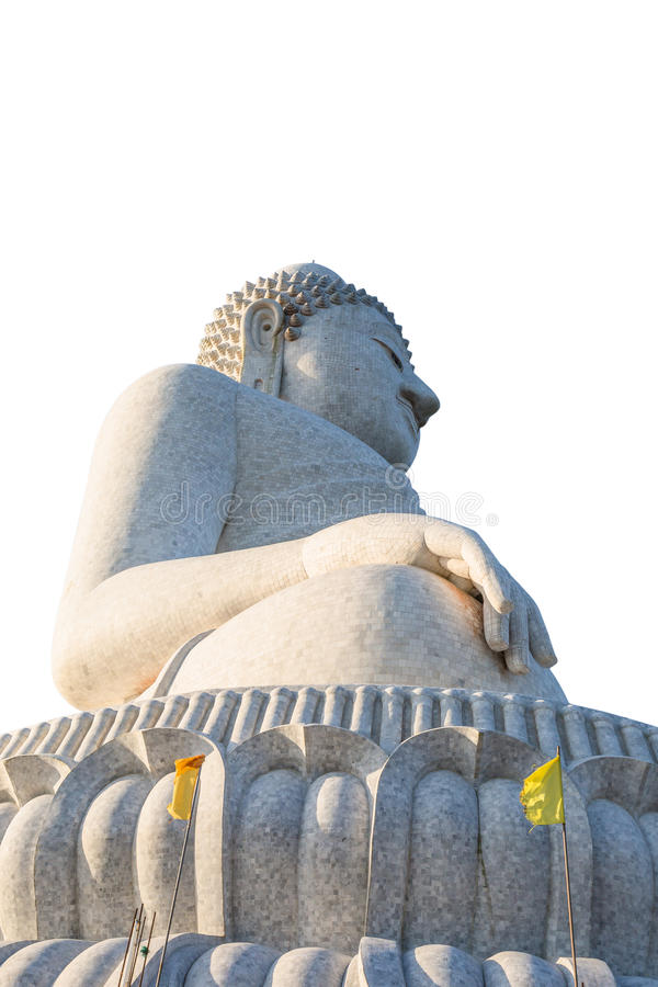 stor buddha staty royaltyfria foton
