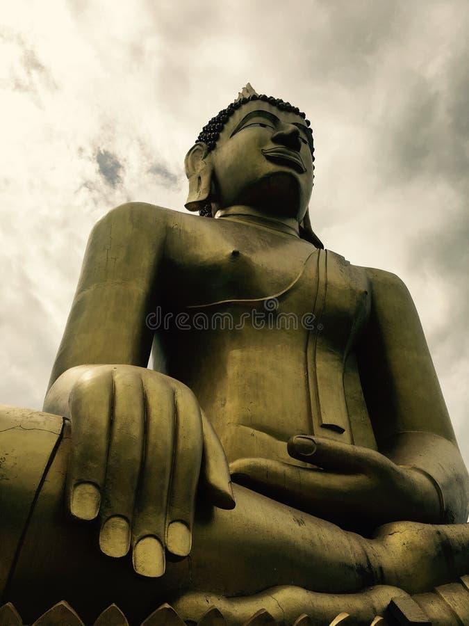stor buddha staty thailand arkivfoto