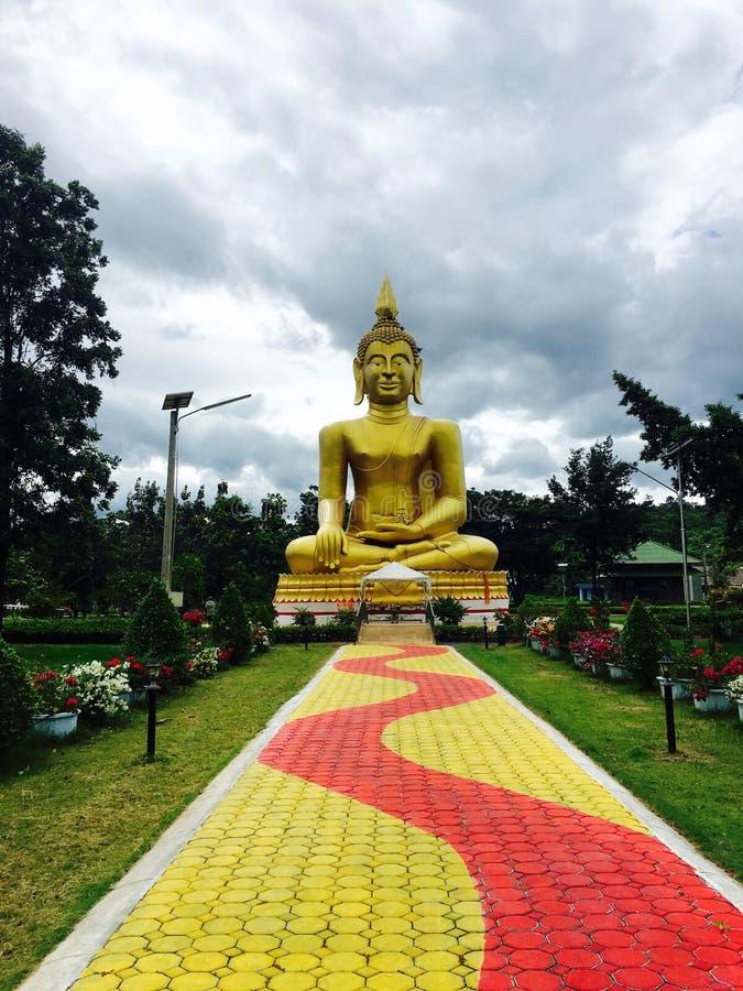 stor buddha staty thailand royaltyfria bilder