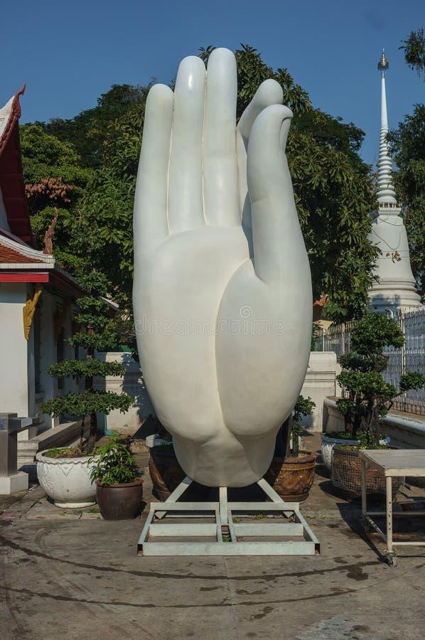 Stor Buddhahand royaltyfri fotografi