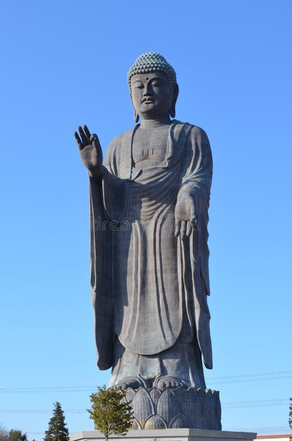Stor Buddhastaty royaltyfri foto