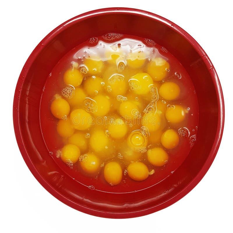 Stor bunke av spruckna ägg arkivfoton