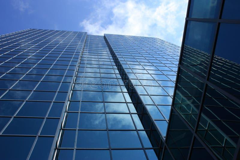stor byggnadexponeringsglas royaltyfri bild