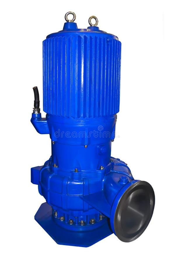 Stor centrifugal pump för enkel etapp arkivfoto