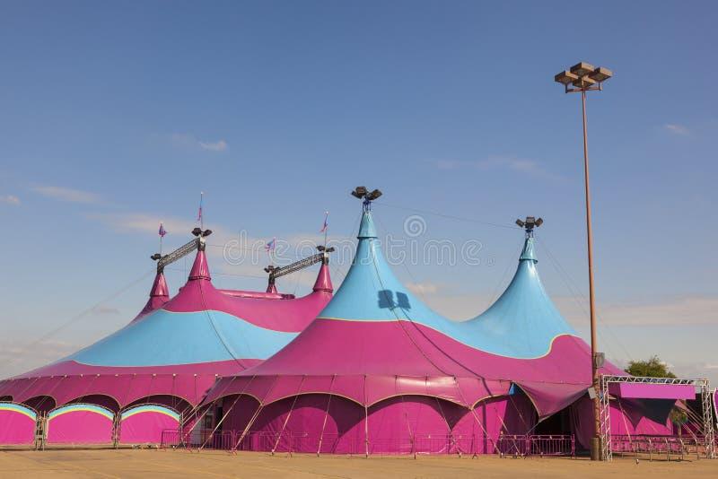 Utomhus Tält För Stor överkant För Cirkus Fotografering för