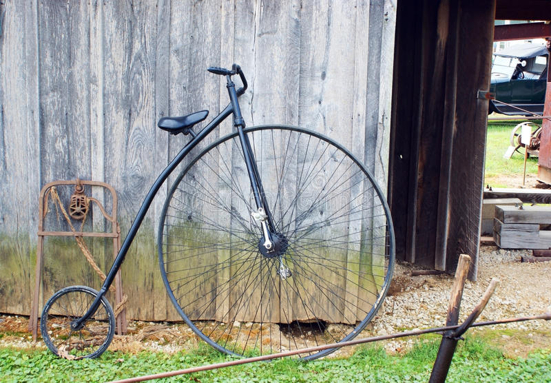 stor cykel arkivbild