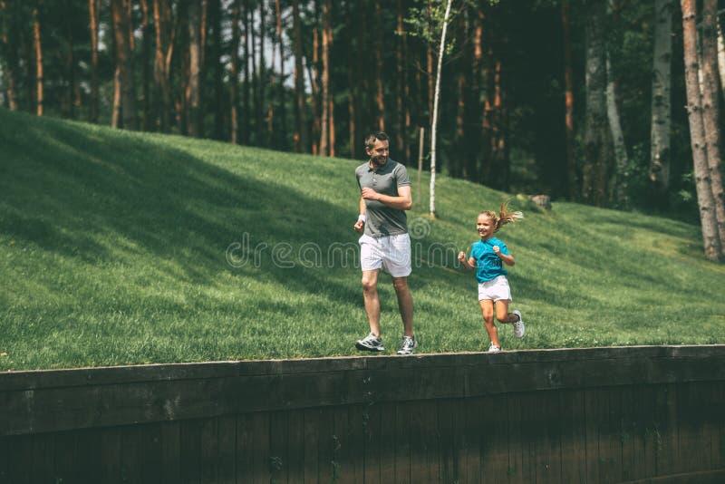 Stor dag för att jogga royaltyfria foton