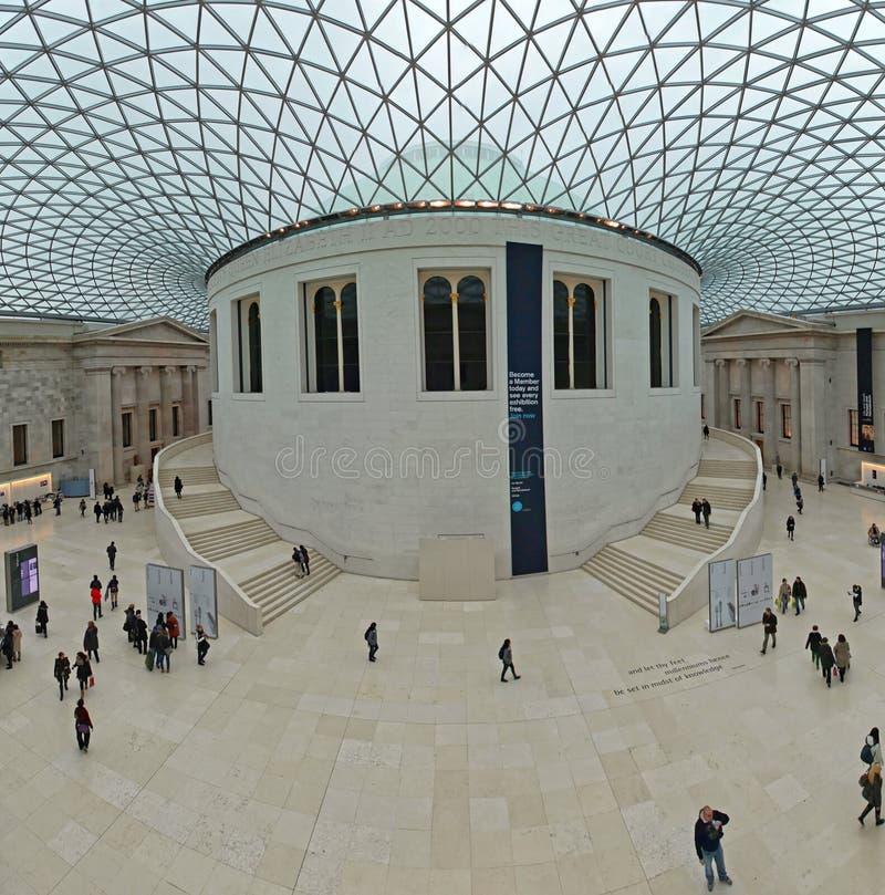 Stor domstol av British Museum arkivbilder