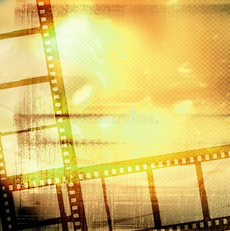 stor filmram vektor illustrationer