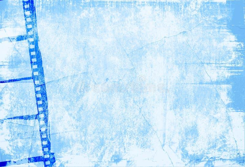 stor filmram stock illustrationer