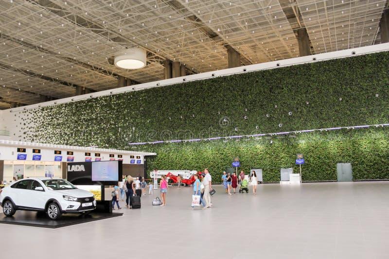 Stor flygplatsvardagsrum arkivbilder