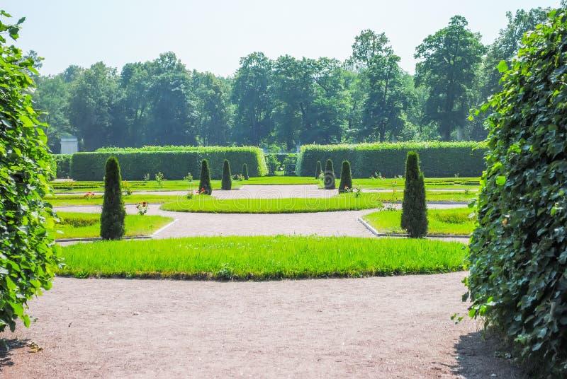 Stor gräsplan parkerar royaltyfri foto