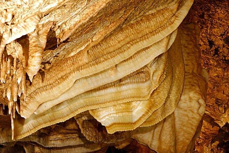 Stor grottabacon royaltyfria foton