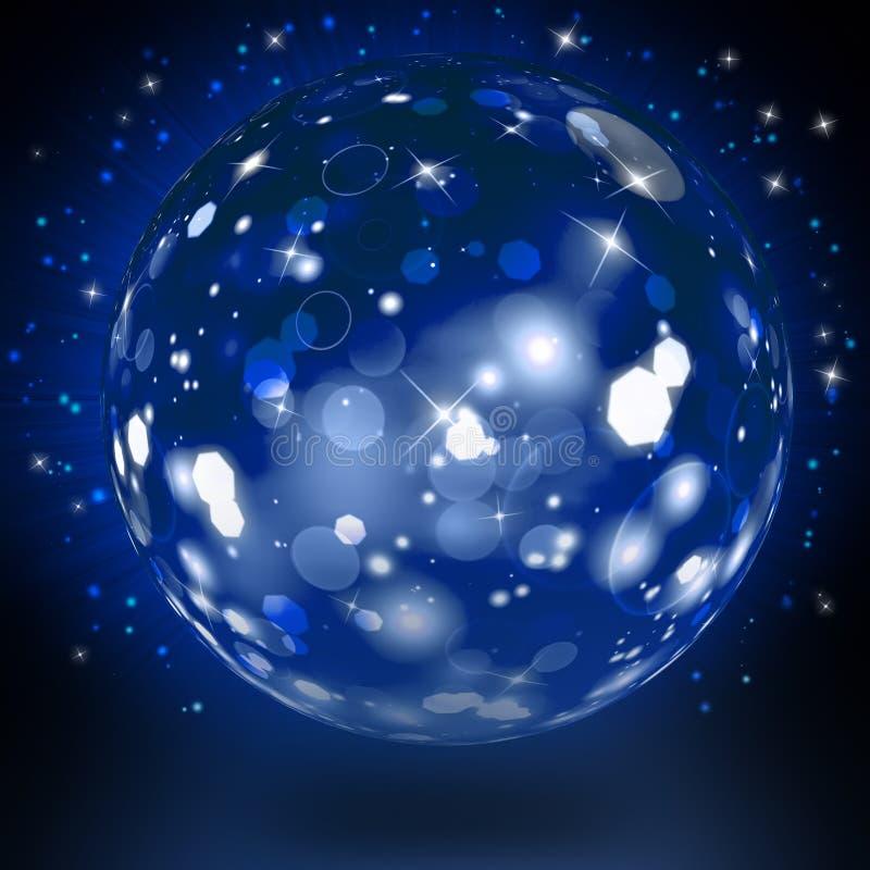 Stor härlig festlig boll stock illustrationer