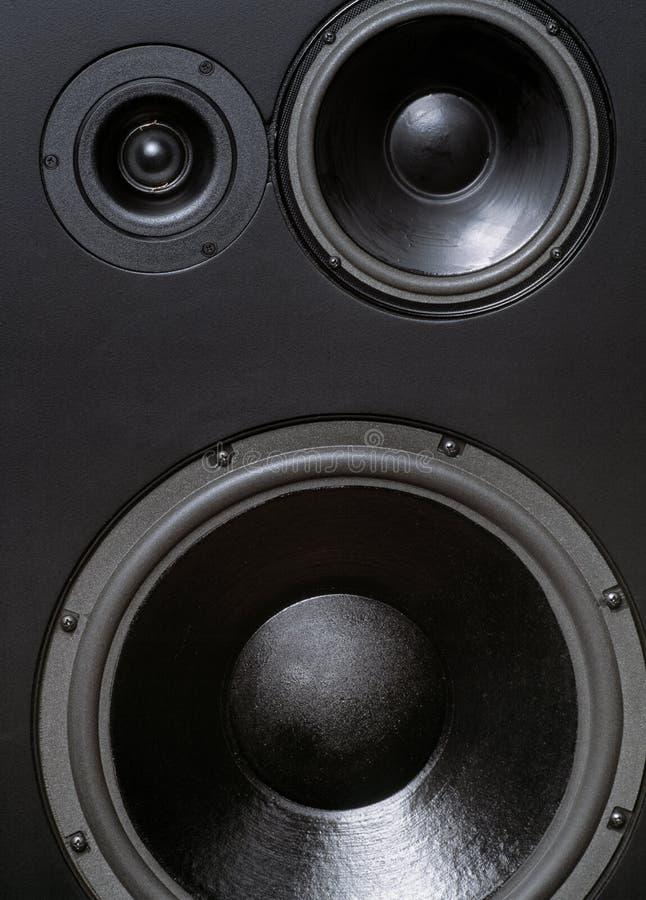 stor högtalarestudio arkivbilder