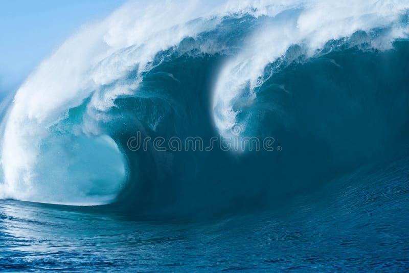 stor havwave royaltyfria foton