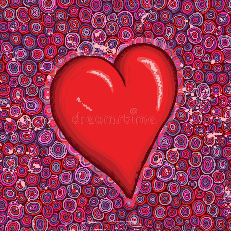 stor hjärtared arkivfoton
