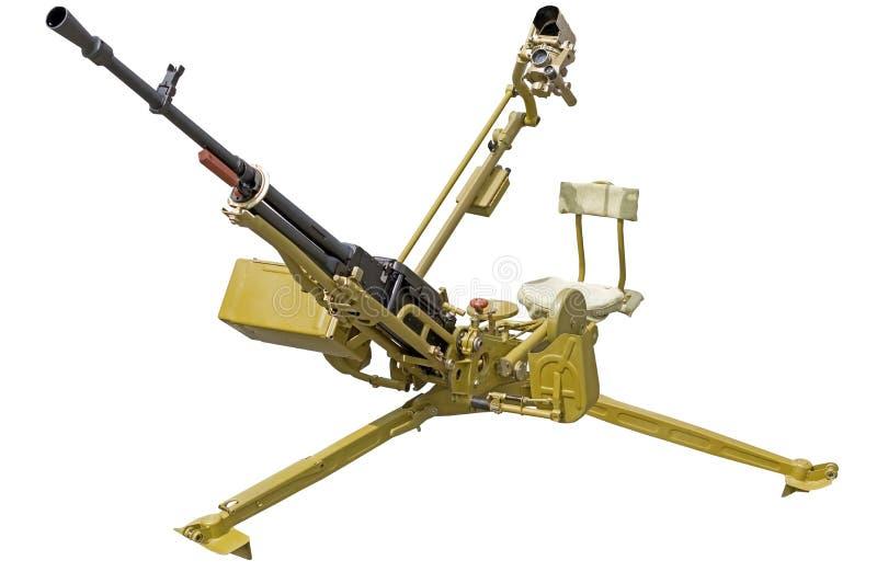 Stor-kaliber maskingevärkaliber 12 mm 7 arkivfoto