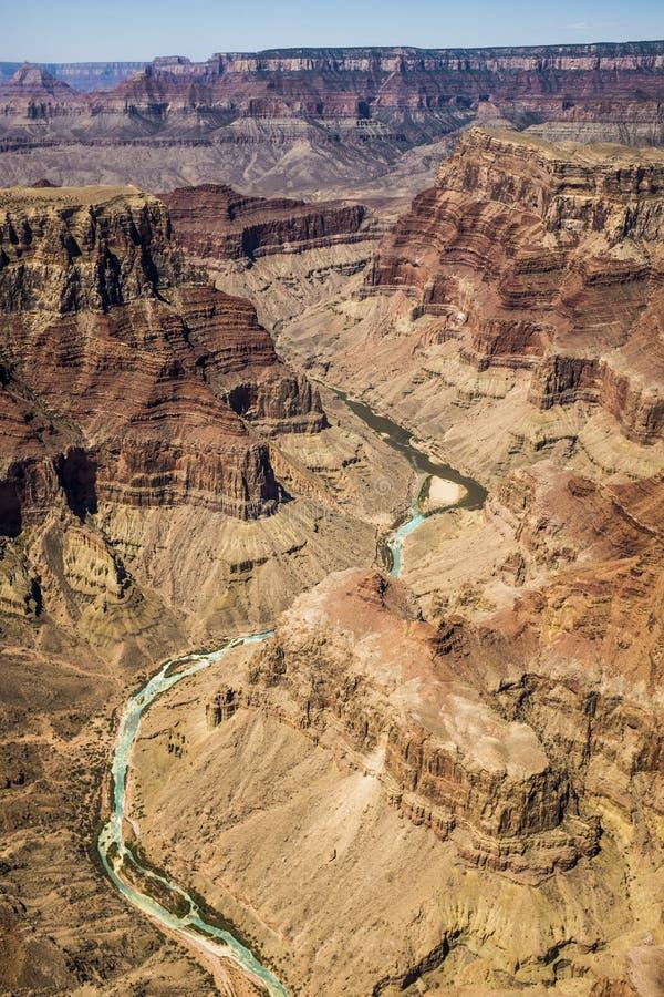 Stor kanjon i USA arkivbild