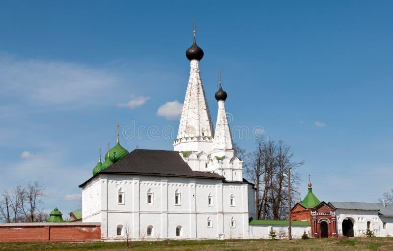 stor klosterrussia uglich arkivfoto