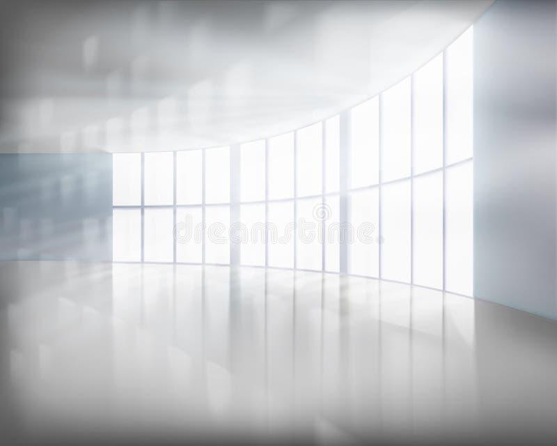 Stor kontorsinre också vektor för coreldrawillustration royaltyfri illustrationer