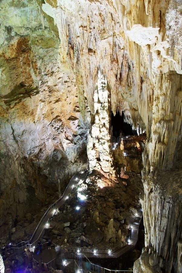 stor korridorkarst för grotta royaltyfri foto