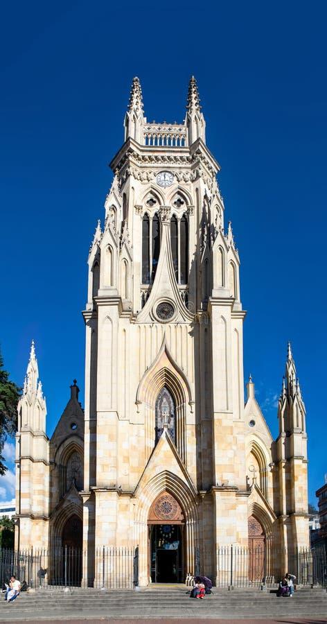 Stor kyrka av vår dam av Lourdes arkivfoton
