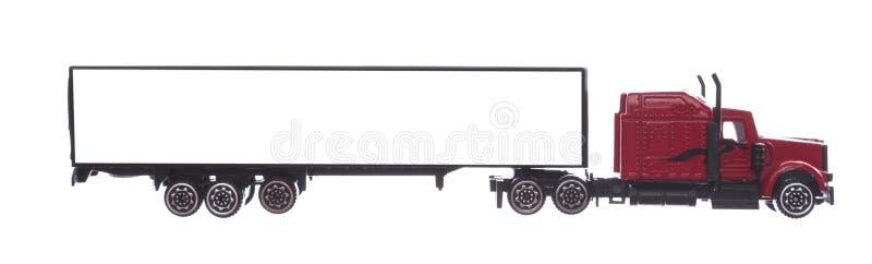 Stor lastbilbakgrund - tom modell för design, advertizing och simulering fotografering för bildbyråer