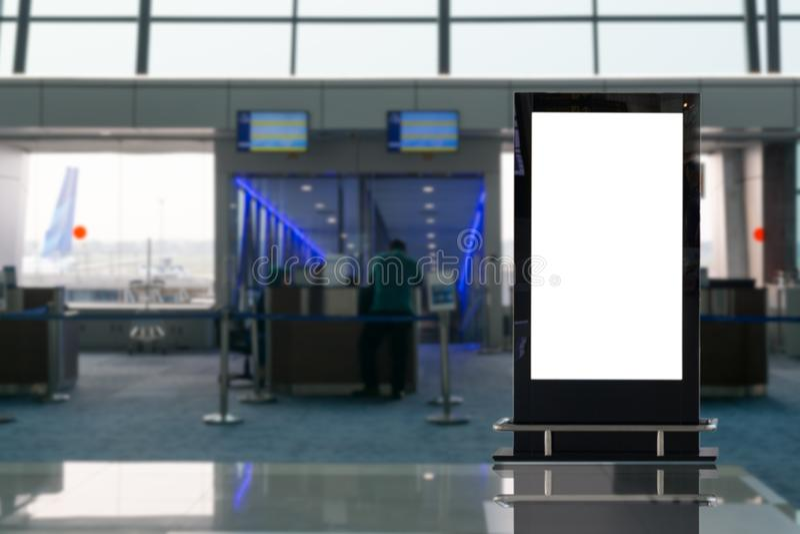 Stor LCD-annonsering f?r bakgrund royaltyfri foto