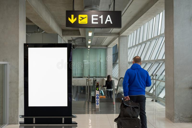 Stor LCD-annonsering f?r bakgrund arkivbild